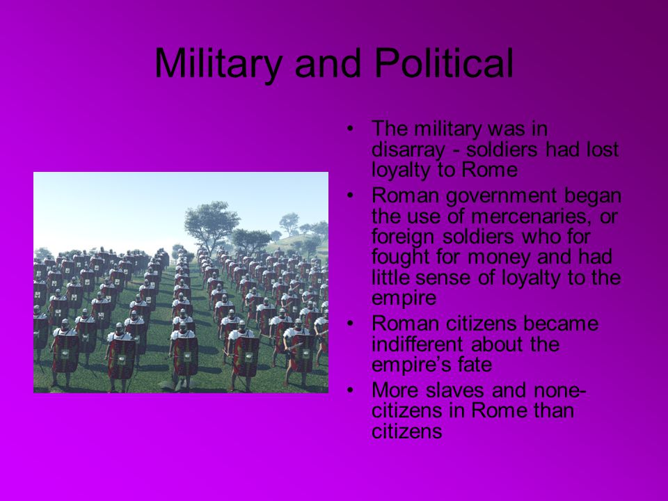Military and Political