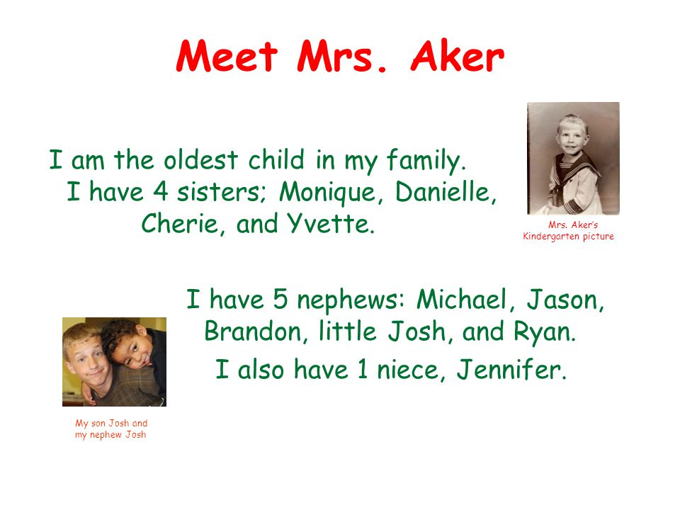 Meet Mrs. Aker