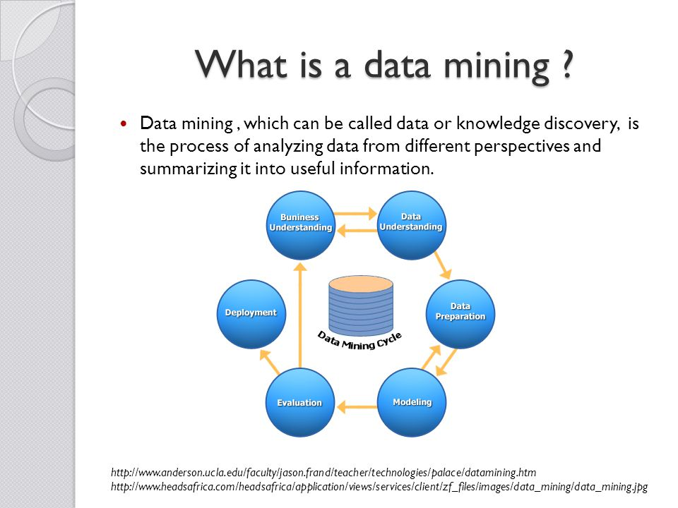 What is a data mining