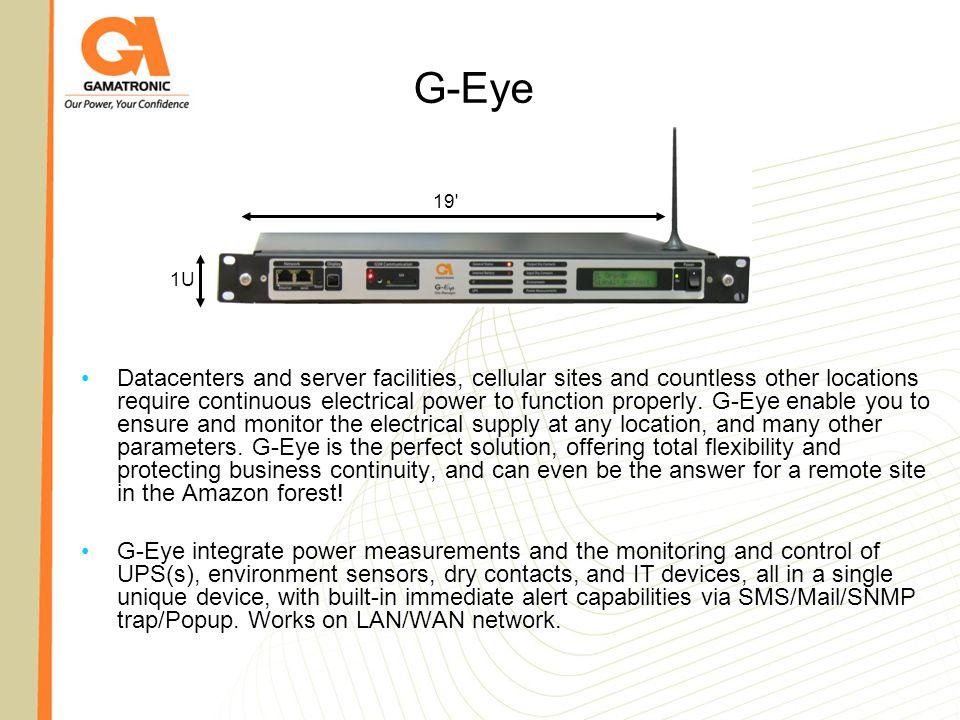 G-Eye 19 1U.