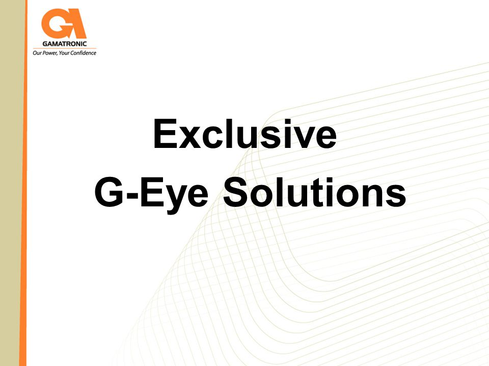Exclusive G-Eye Solutions