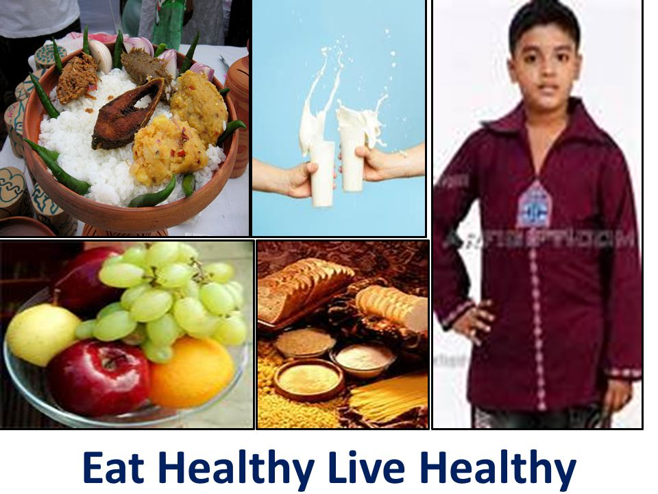 Eat Healthy Live Healthy