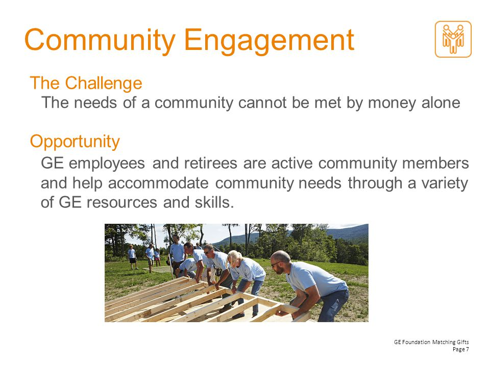 Community Engagement The Challenge Opportunity