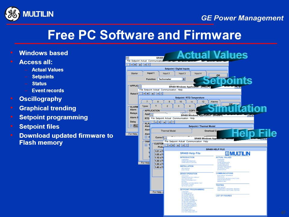 Free PC Software and Firmware