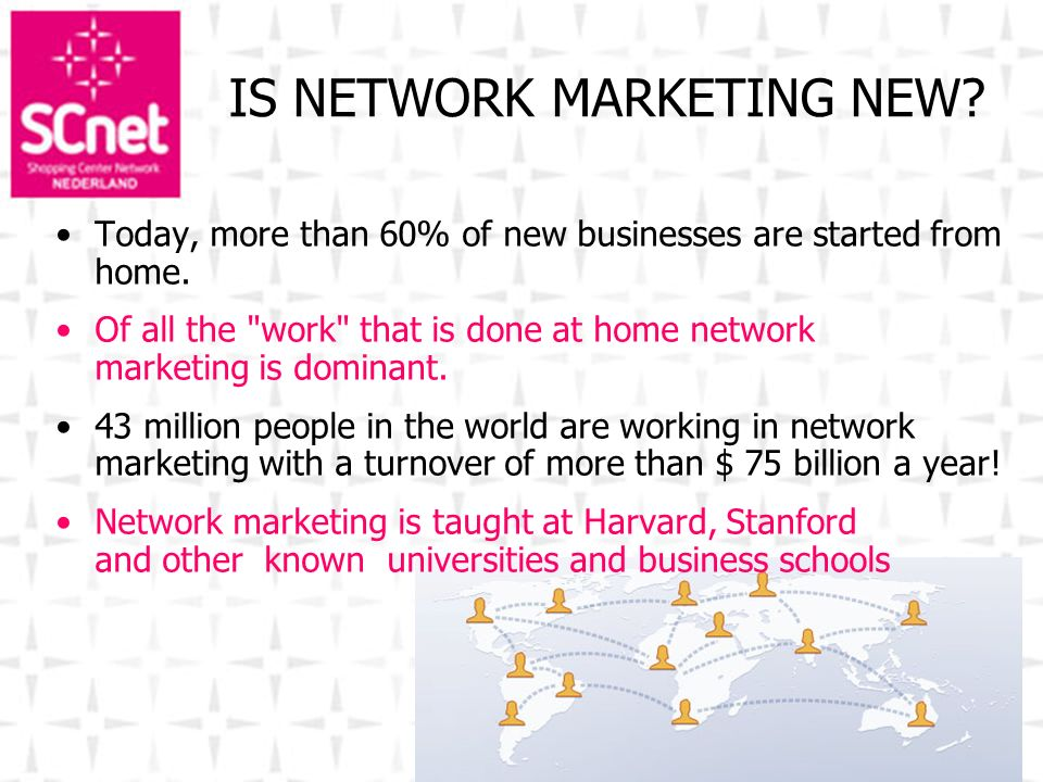 IS NETWORK MARKETING NEW