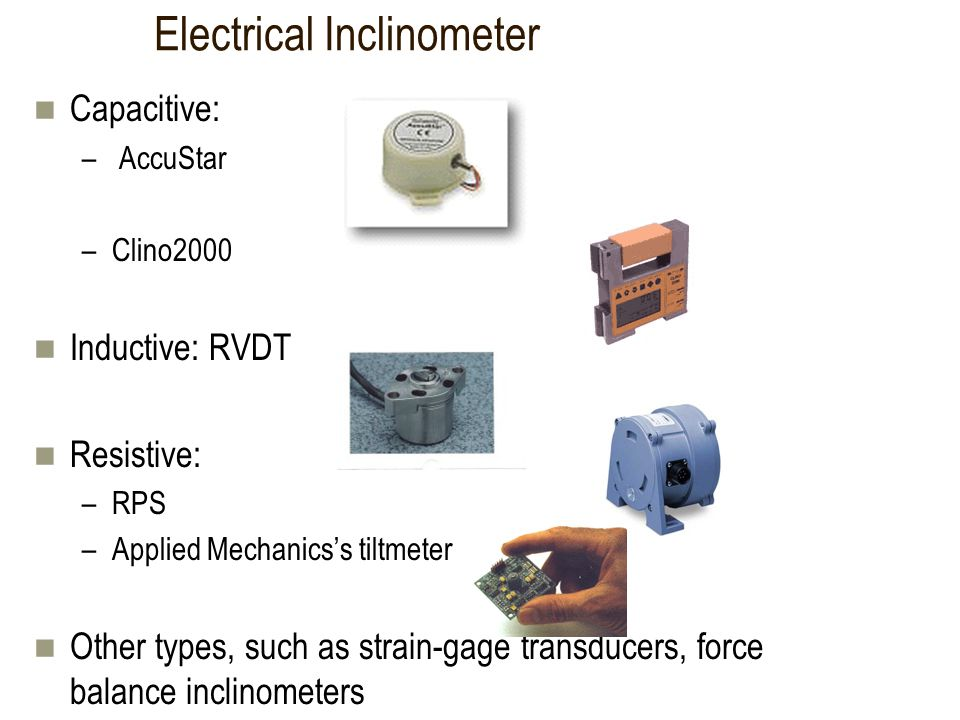 Electrical Inclinometer