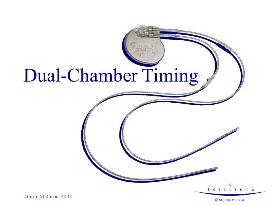 Dual-Chamber Timing Göran Mathson, 2005