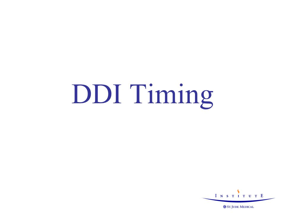 DDI Timing DDI(R) is active during mode switch… 2