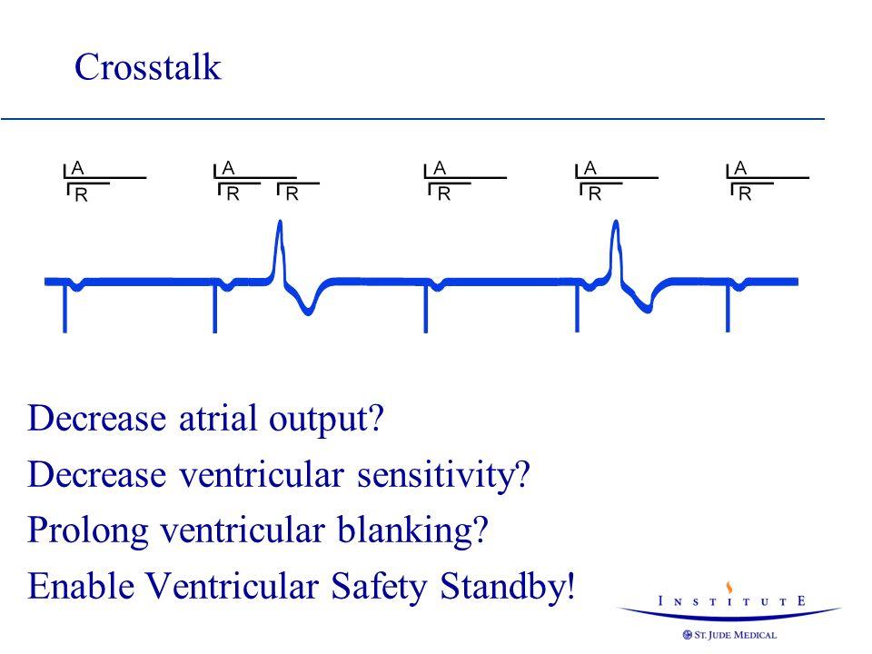 Decrease atrial output Decrease ventricular sensitivity