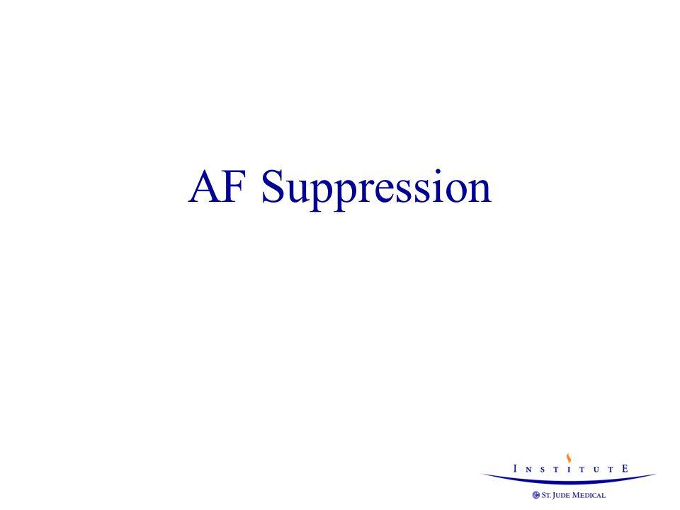 AF Suppression