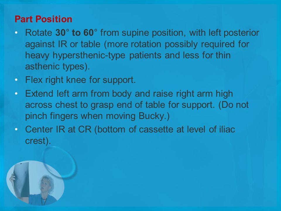 Part Position