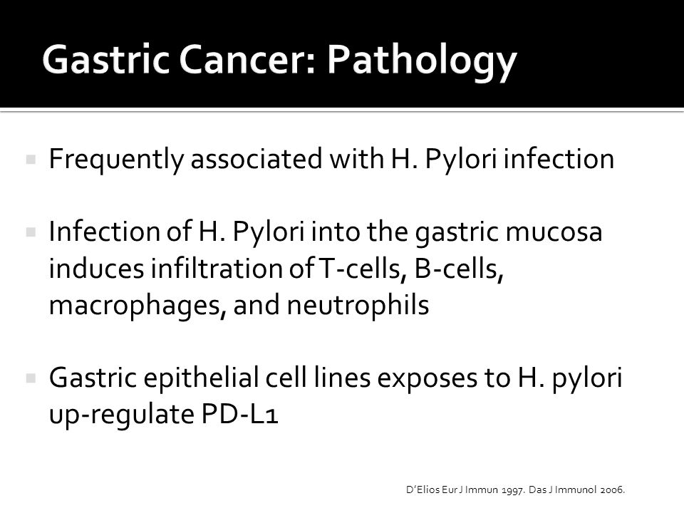 Gastric Cancer: Pathology