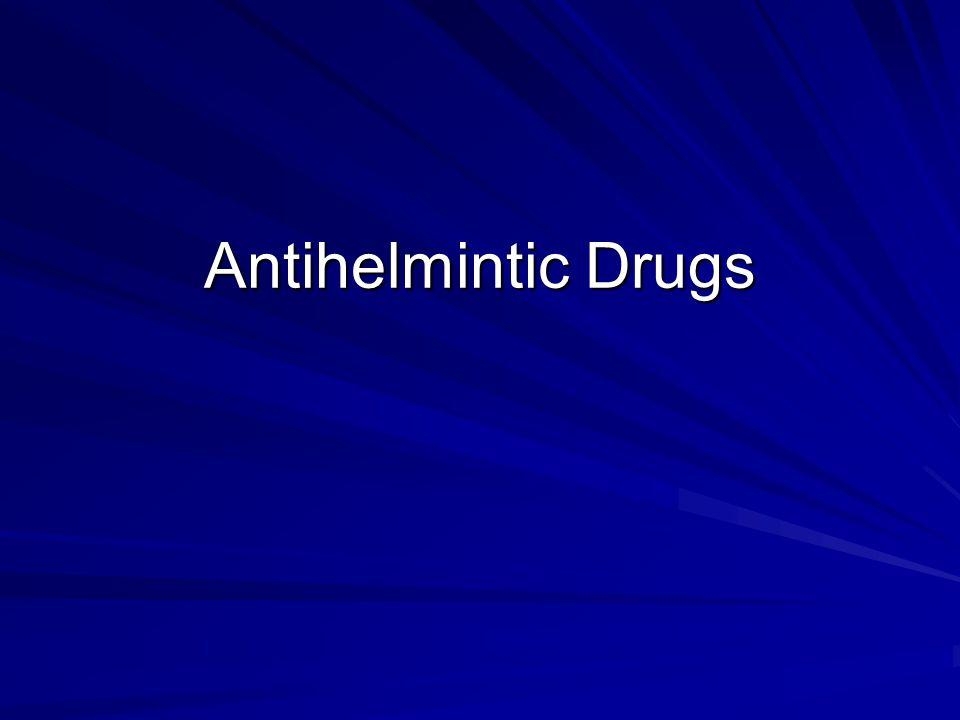 Antihelmintic Drugs
