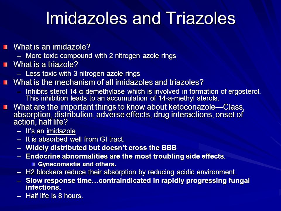 Imidazoles and Triazoles