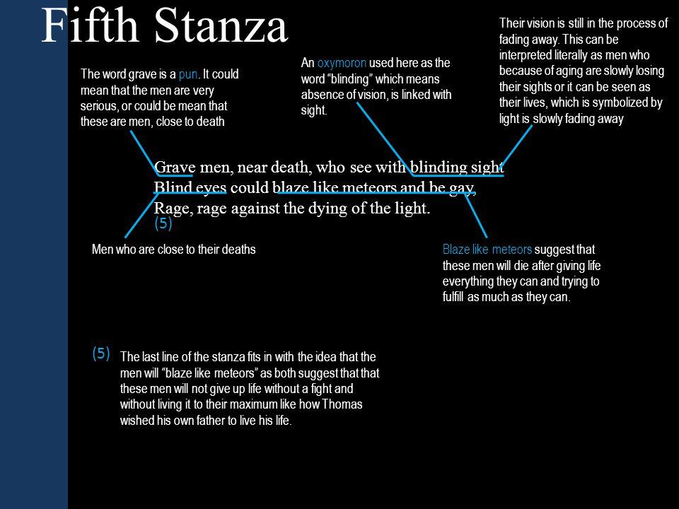Fifth Stanza