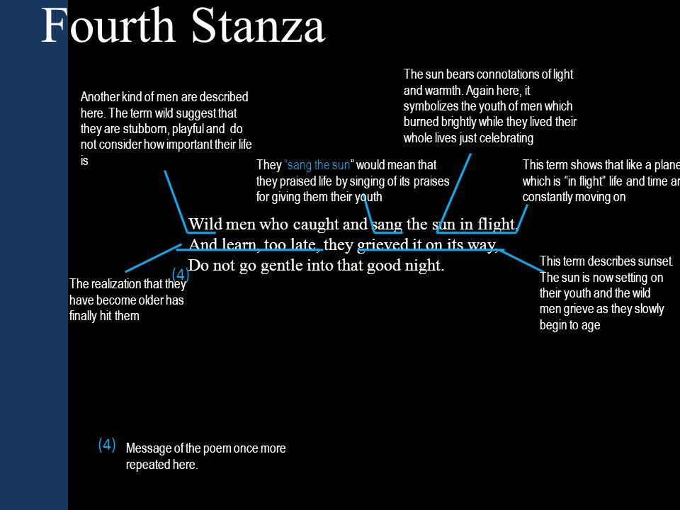 Fourth Stanza