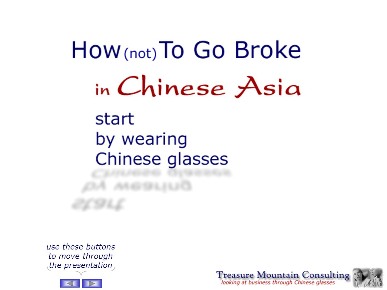 How (not) to Go Broke in Chinese Asia