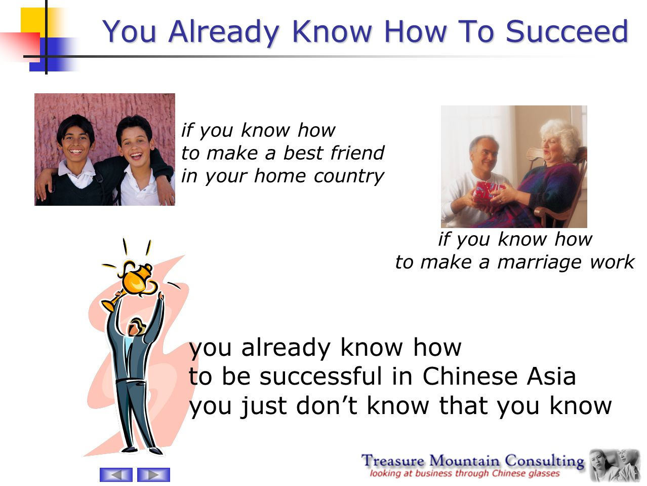 You Already Know How To Succeed
