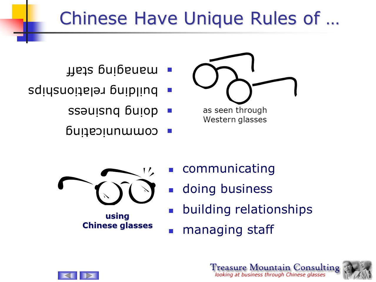 Chinese Have Unique Rules of …