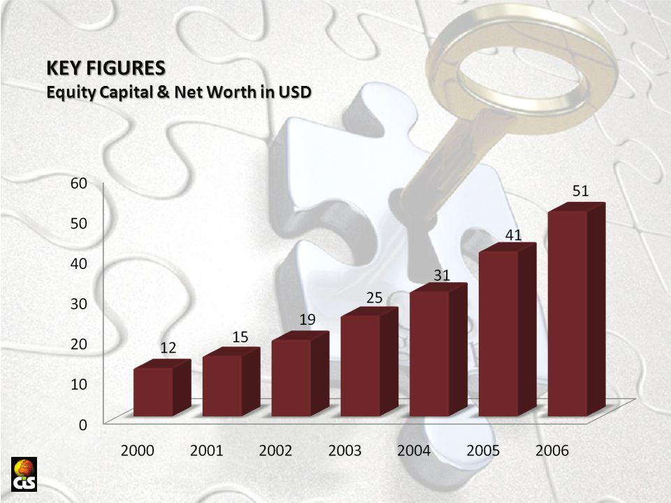 KEY FIGURES Equity Capital & Net Worth in USD