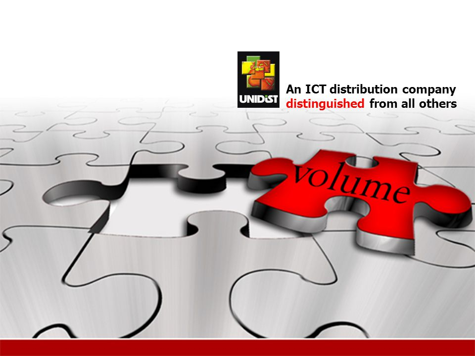 An ICT distribution company distinguished from all others