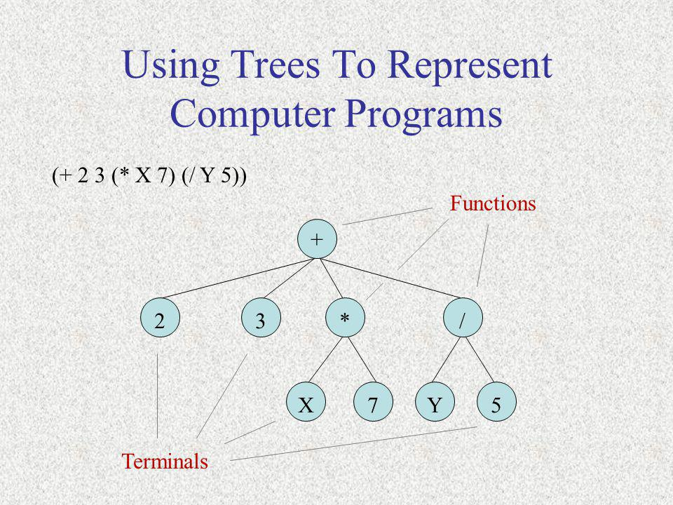 Using Trees To Represent Computer Programs