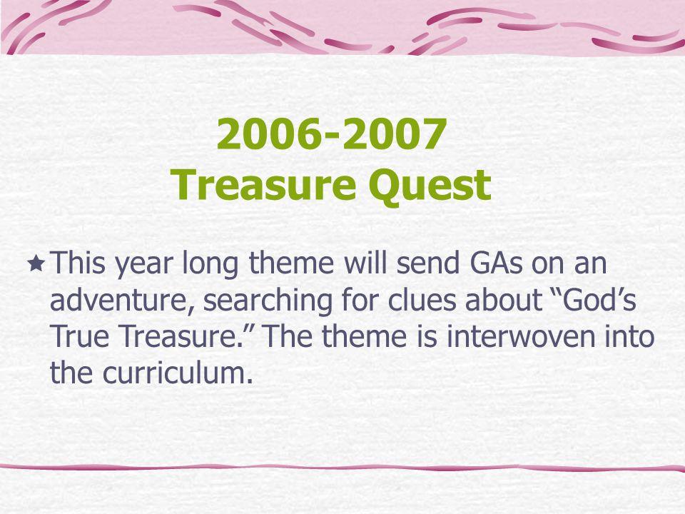 2006-2007 Treasure Quest