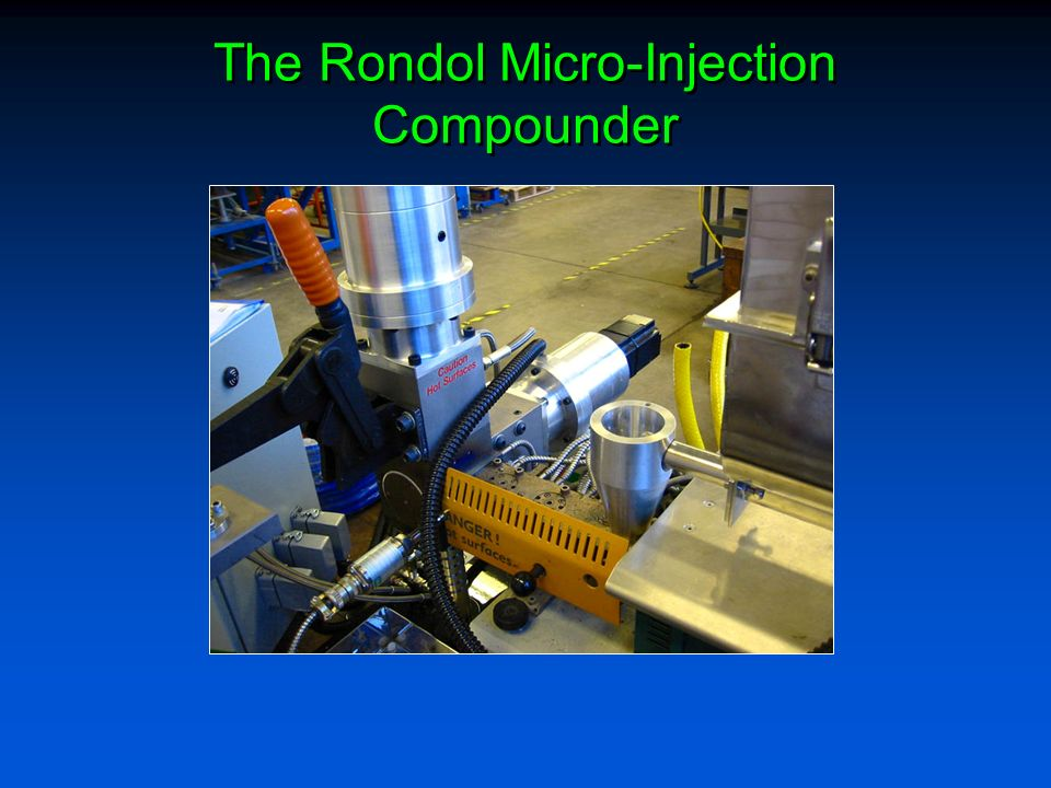The Rondol Micro-Injection Compounder