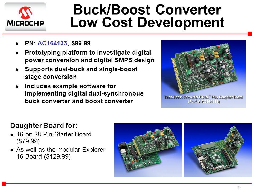 Buck/Boost Converter Low Cost Development