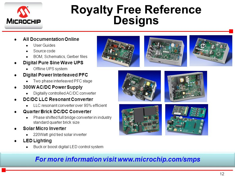 Royalty Free Reference Designs