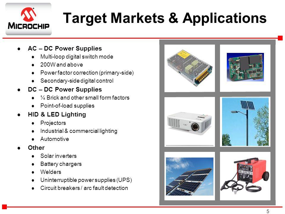 Target Markets & Applications