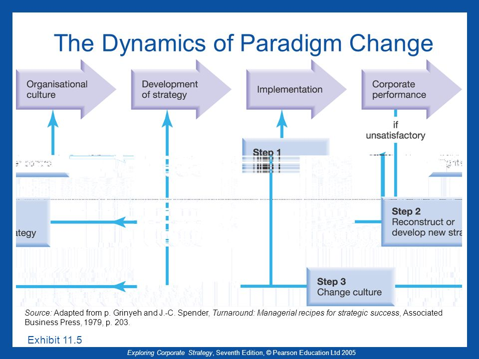 The Dynamics of Paradigm Change
