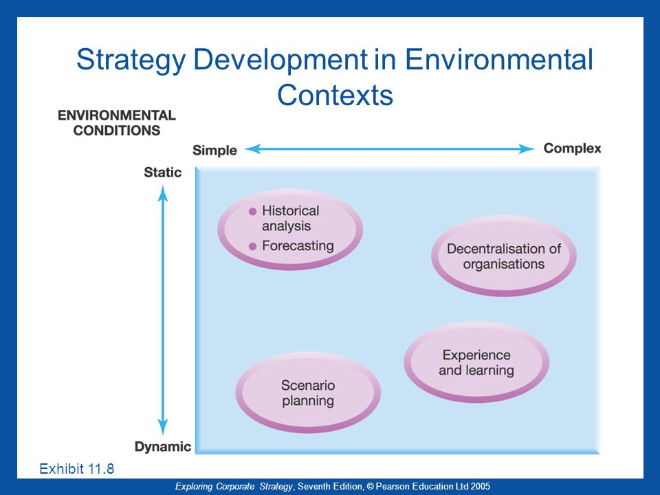 Strategy Development in Environmental Contexts