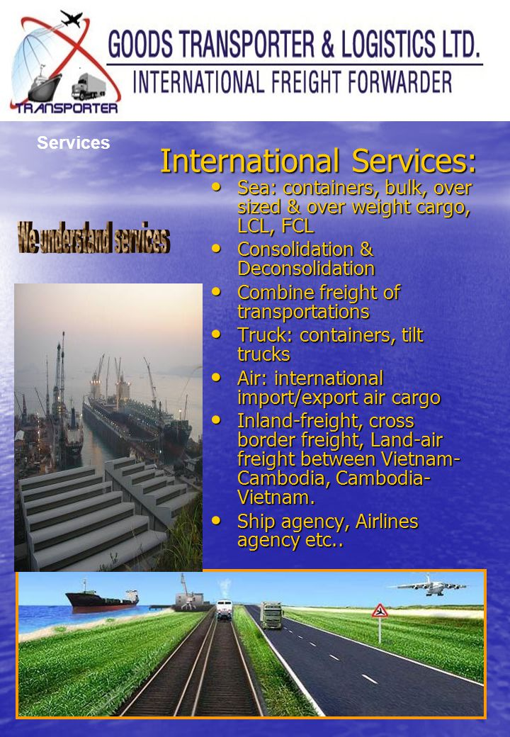 International Services: