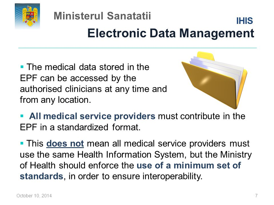 Electronic Data Management