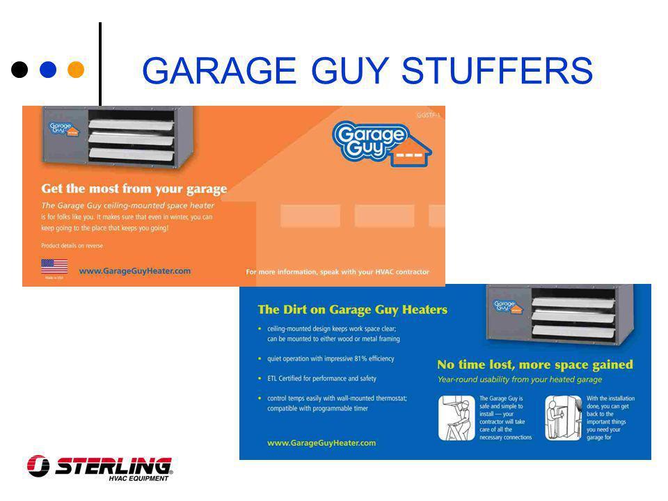 GARAGE GUY STUFFERS