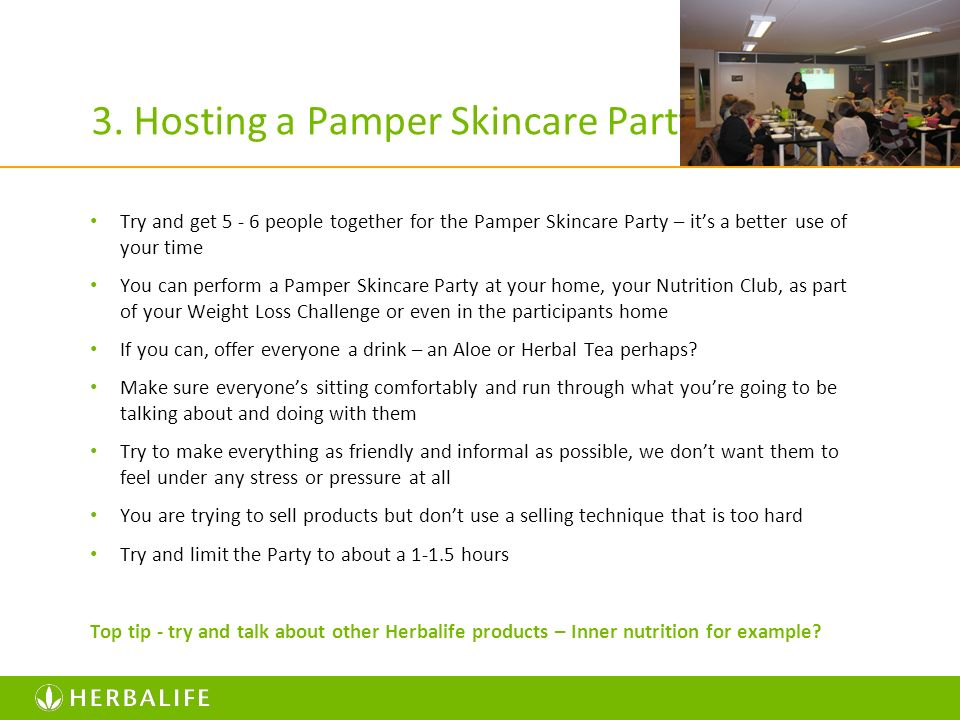 3. Hosting a Pamper Skincare Party