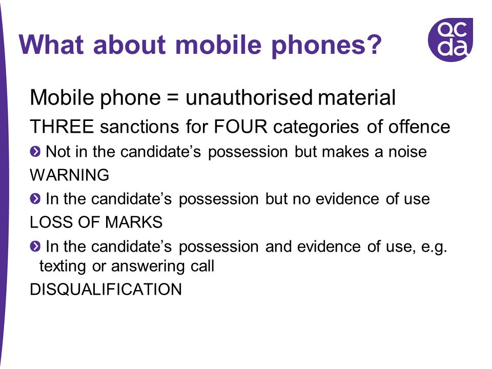 What about mobile phones