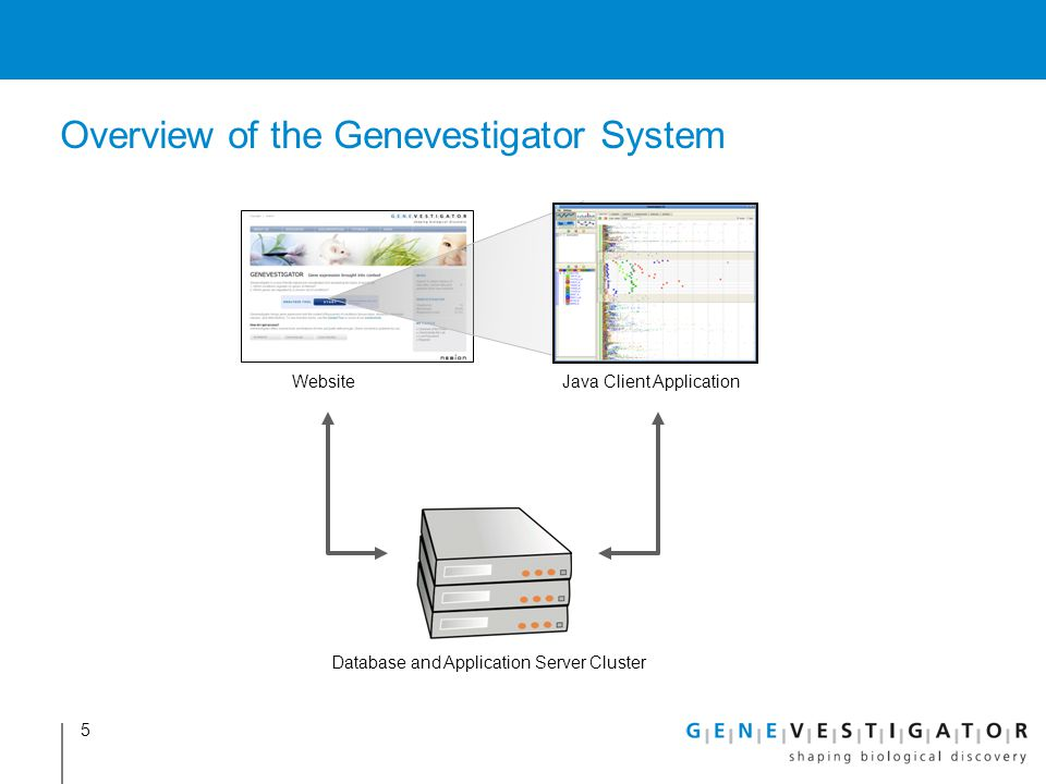 Overview of the Genevestigator System