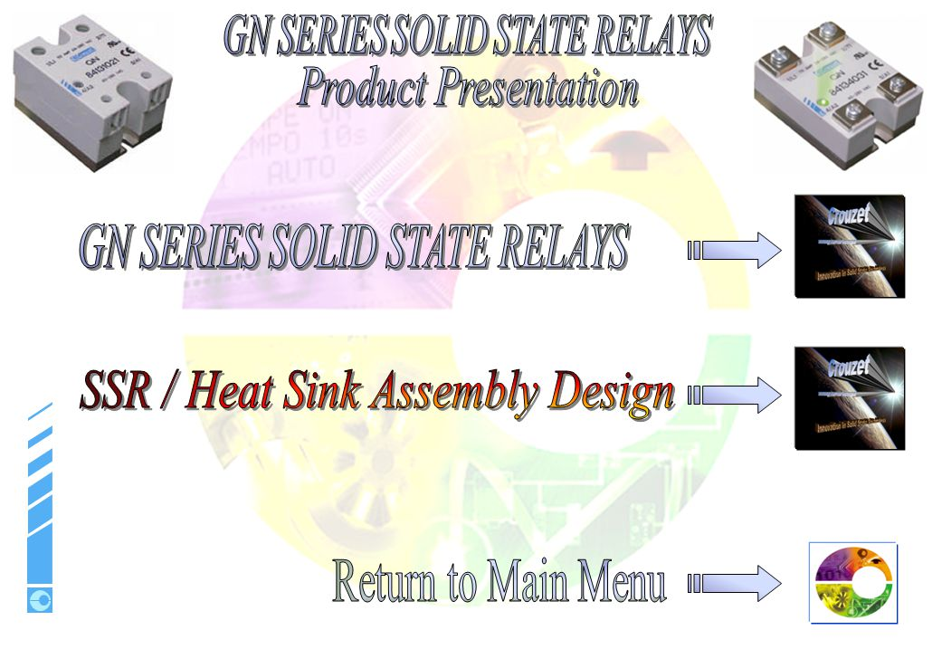 SSR / Heat Sink Assembly Design