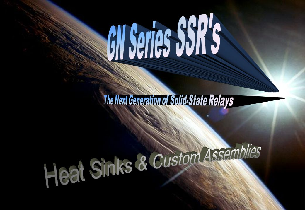 GN Series SSR s Heat Sinks & Custom Assemblies