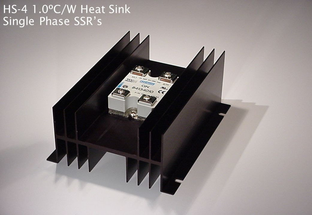 HS-4 1.0ºC/W Heat Sink Single Phase SSR's