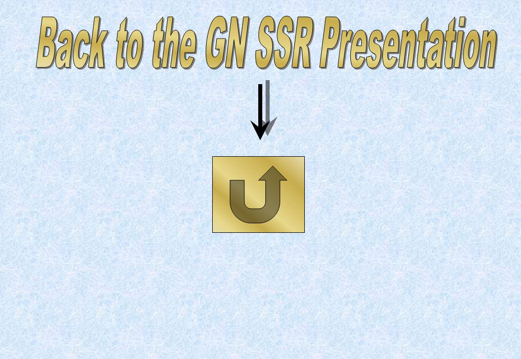 Back to the GN SSR Presentation