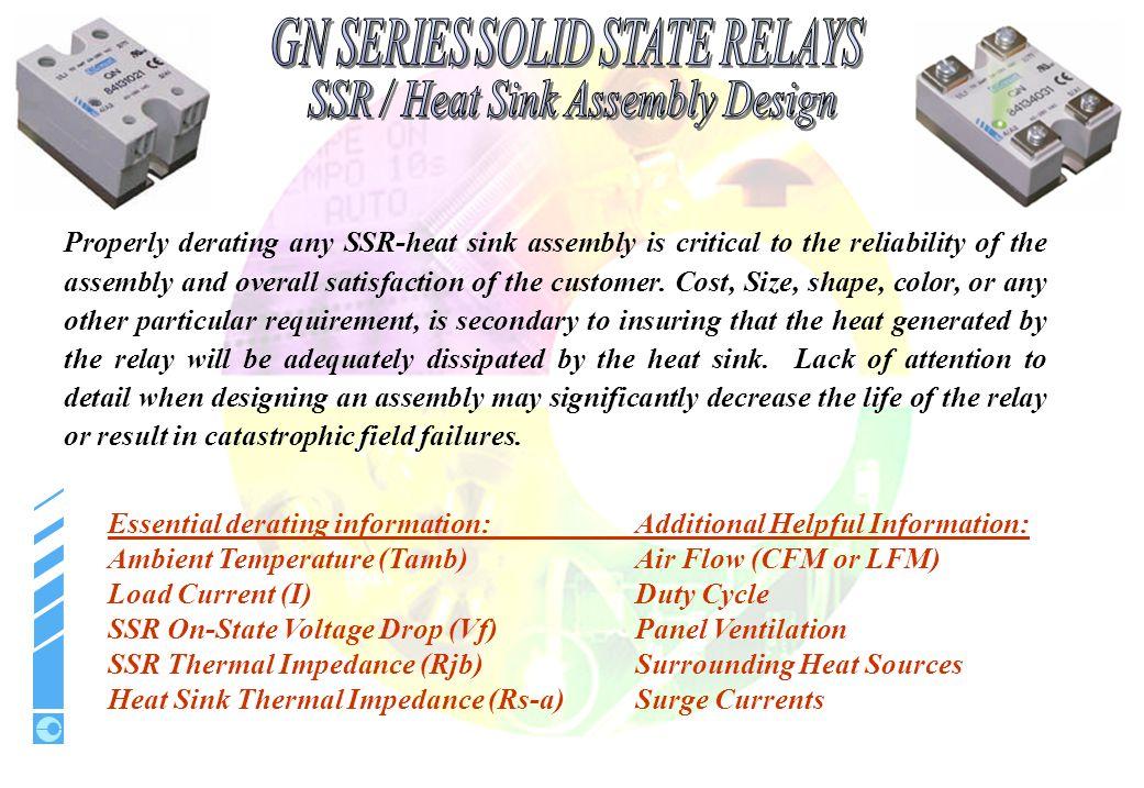 SSR / Heat Sink Assembly Design