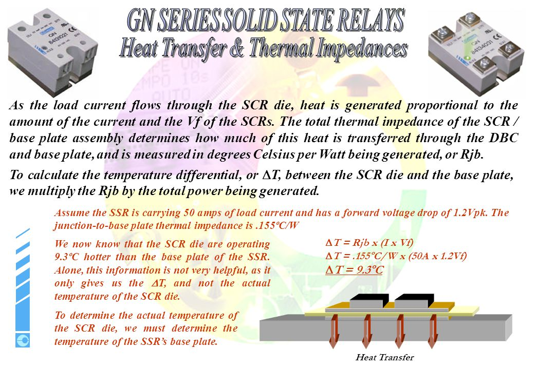 Heat Transfer & Thermal Impedances