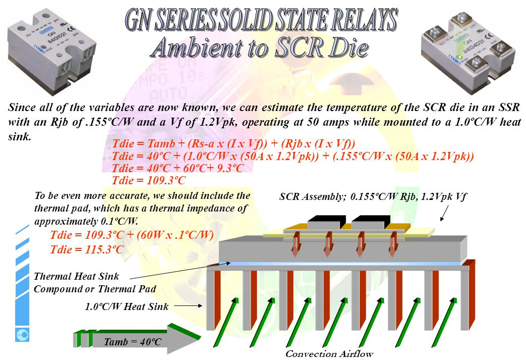 SCR Assembly; 0.155ºC/W Rjb, 1.2Vpk Vf