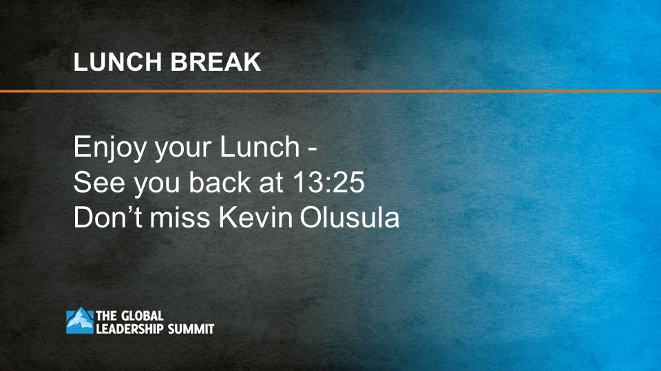 Don't miss Kevin Olusula