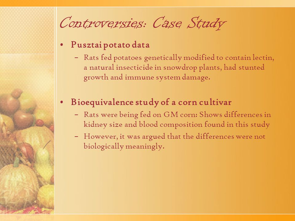 Controversies: Case Study