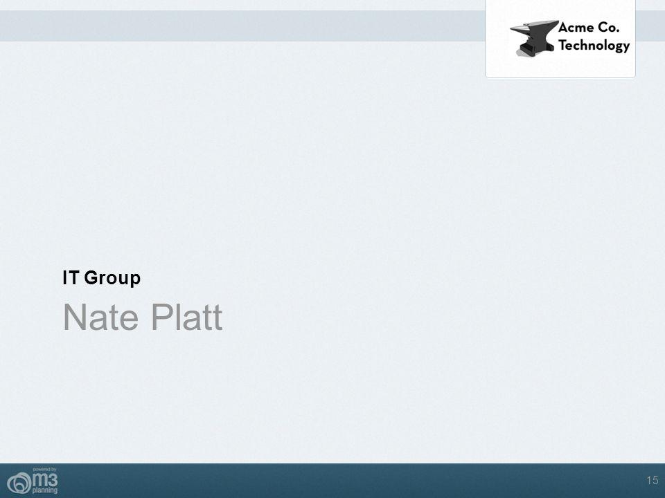 IT Group Nate Platt 15