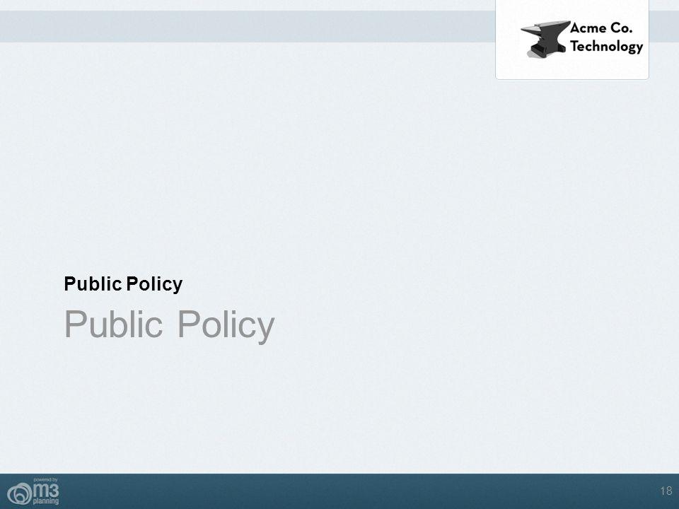 Public Policy Public Policy 18